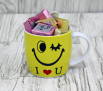 Smile mug contains mixed Chocolates 15 pcs.