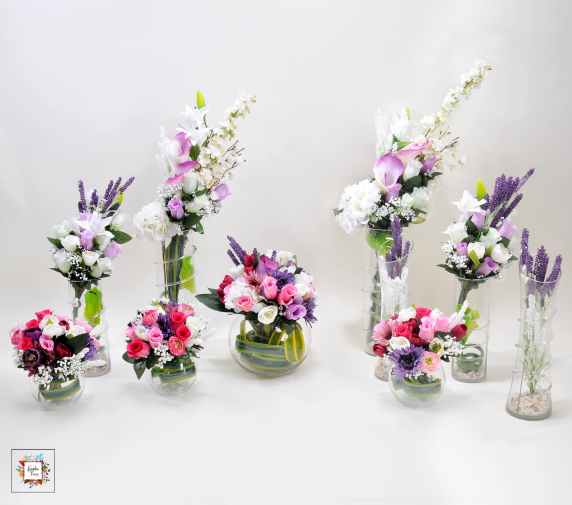 Art of Happiness (Artificial Flowers)
