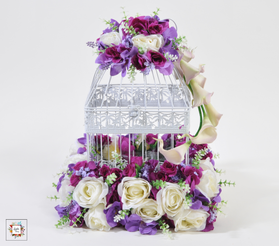 Cage M (Artificial Flowers)