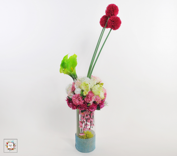 Triple Rain (Artificial Flowers)
