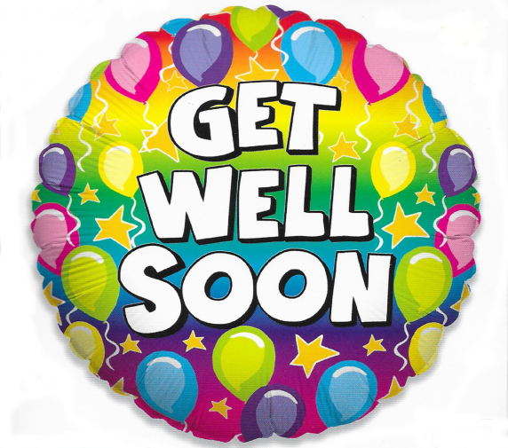 Balloon Get well Soon