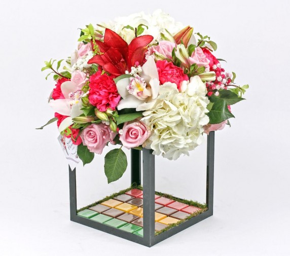 Flowers Cube