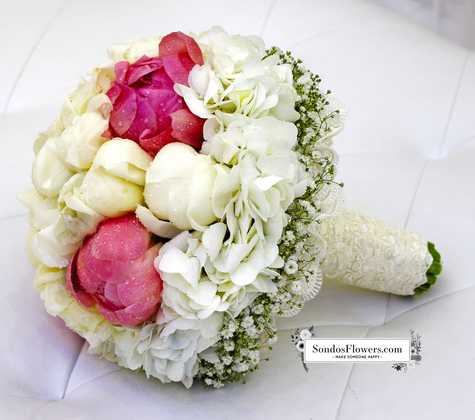Bridal Bouquets 57 | Send Fresh Flowers Gifts Online Kuwait | Sondos ...