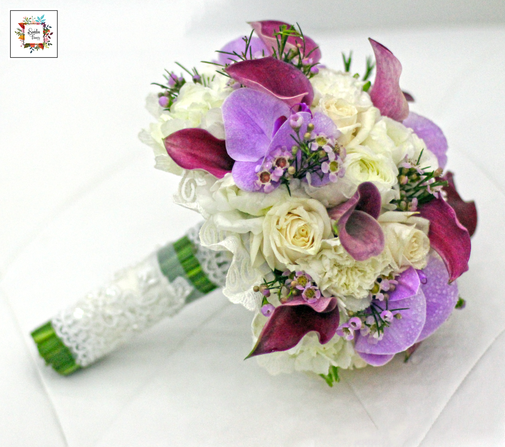 Bridal Bouquets 37 | Send Fresh Flowers Gifts Online Kuwait | Sondos ...