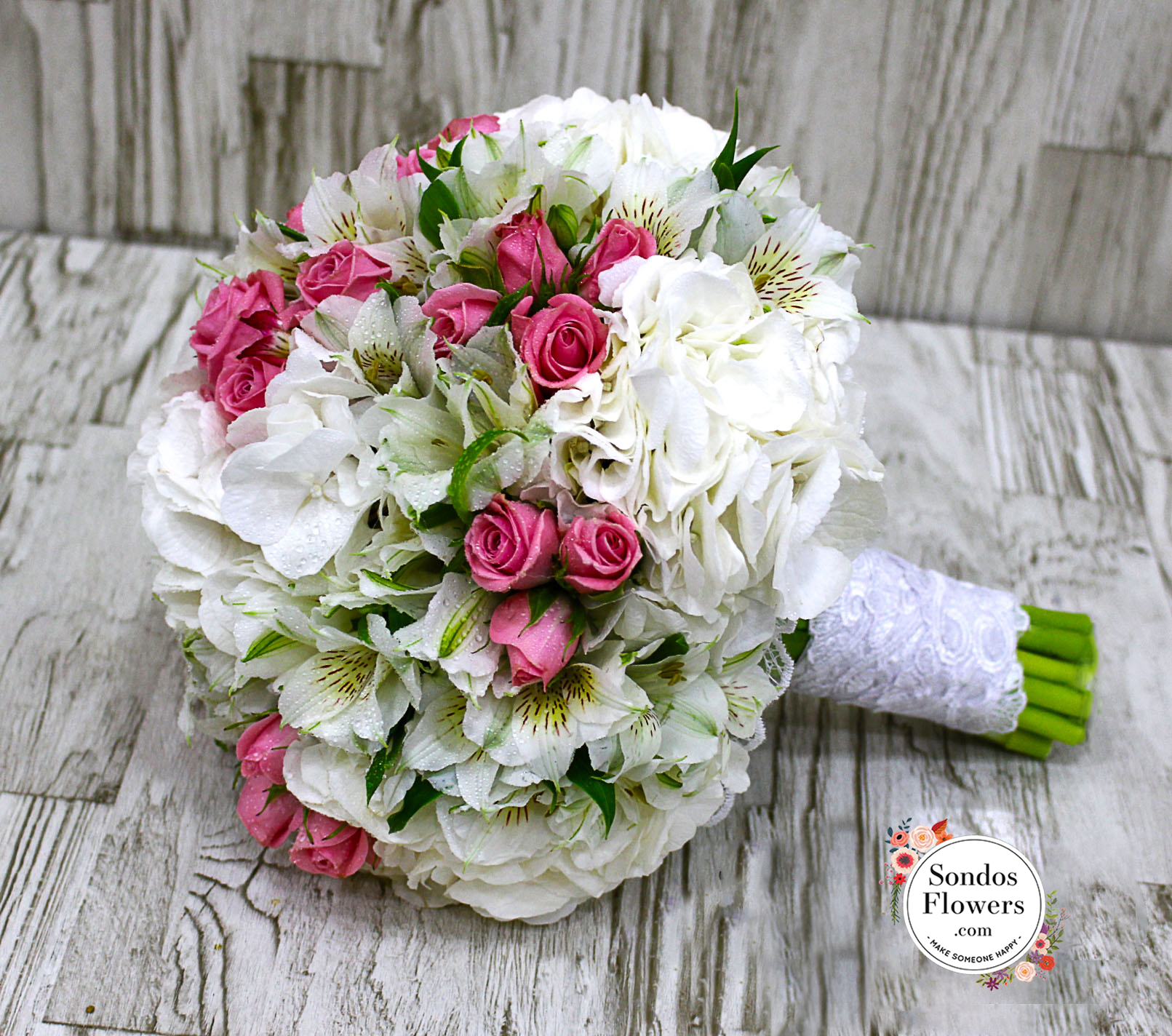 Bridal Bouquets 59 | Send Fresh Flowers Gifts Online Kuwait | Sondos ...