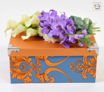 Orange Box (Artificial Flowers)