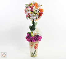 Round Tree (Artificial Flowers)