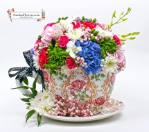 Flowery Moments Cup