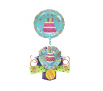 Cake Balloon Birthday